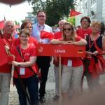 Teile der Lübeck Delegation